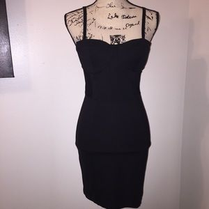 H&M Bustier Bodycon Dress with Mesh Sides 8